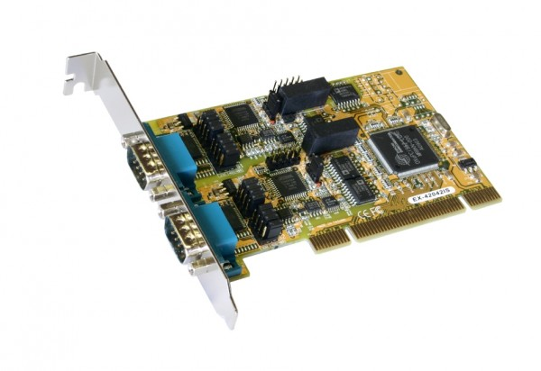 PCI 2S Seriell RS-232/422/485, Surge Protection