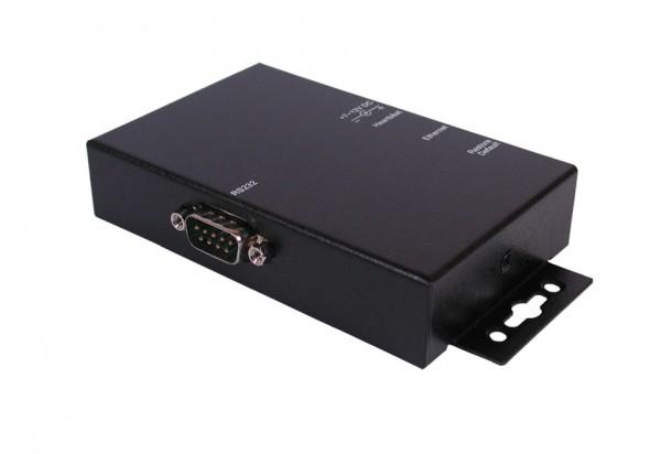 Ethernet Data Gateway zu 1 x RS-232, Metall