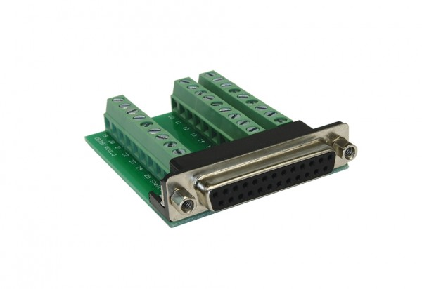 Adapter 25 Pin Buchse zu 27 Pin Terminal Block