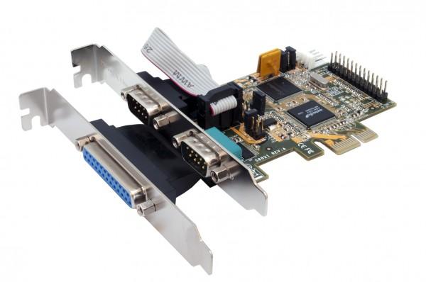 2S/1P PCI-Express Multi I/O Karte, SystemBase