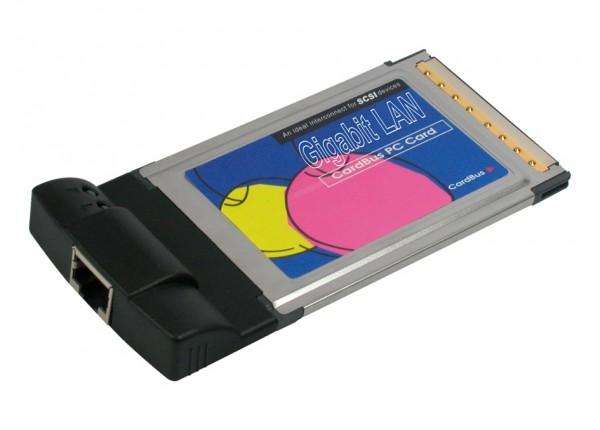 PCMCIA 1GBit LAN Karte