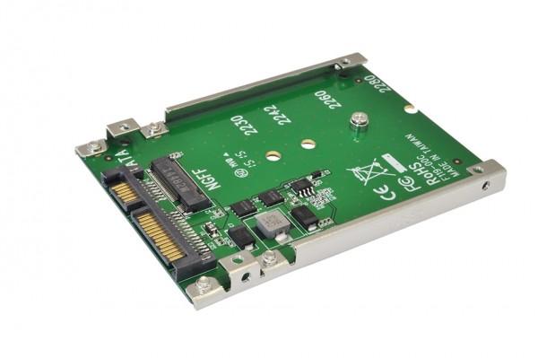 "Konverter M.2 NGFF SATA zu 2.5"" 7 Pin SATA Drive"