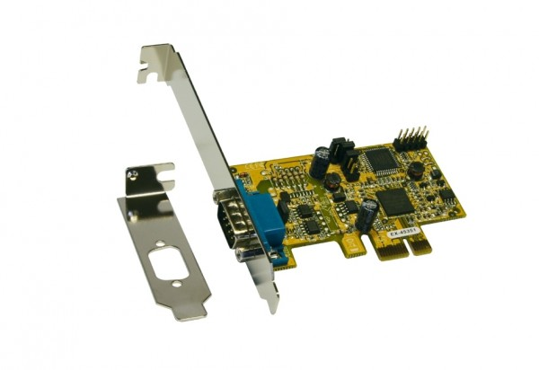 PCIe 1S Seriell RS-422/485, inkl. Low Profile