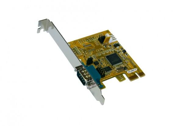 PCIe 1S Seriell RS-232 Karte, MosChip