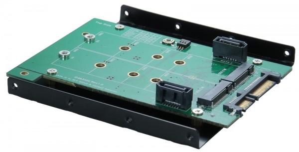 SATA 3 RAID Karte für SATA 2 und M.2 NGFF Ports