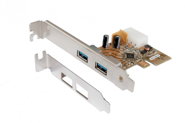 USB 3.0 PCI-Express Karte mit 2 Ports (Renesas)