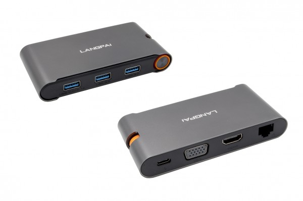 7 in 1 USB C HUB (Metall)