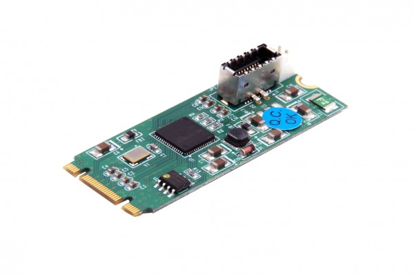 M.2 NFGG 2 Port USB 3.1 Gen2 (C) Karte