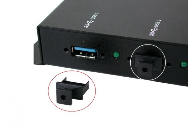 10 x Abdeckungsschutz für USB 3.0 oder 2.0 Ports