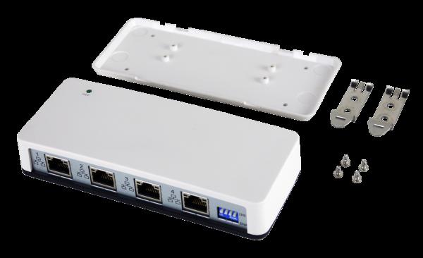 USB 3.0 zu 4 x Ethernet 1Gigabit (C-Stecker)
