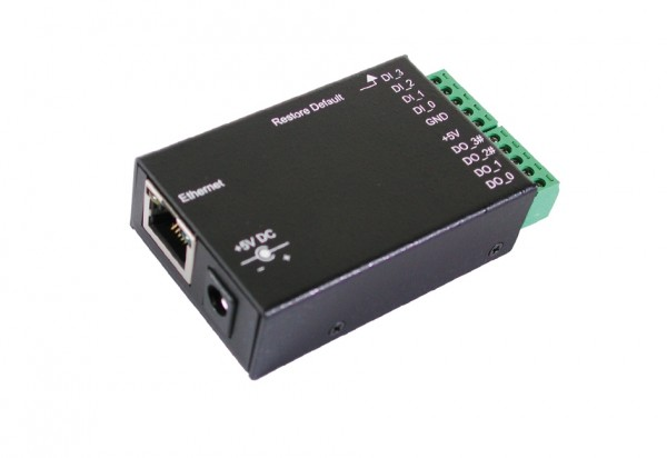 Ethernet zu 8 x Digital I/O