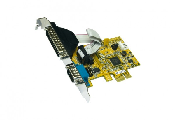 PCIe 2S Seriell RS-232 Karte, ASIX (9/25 Pin)
