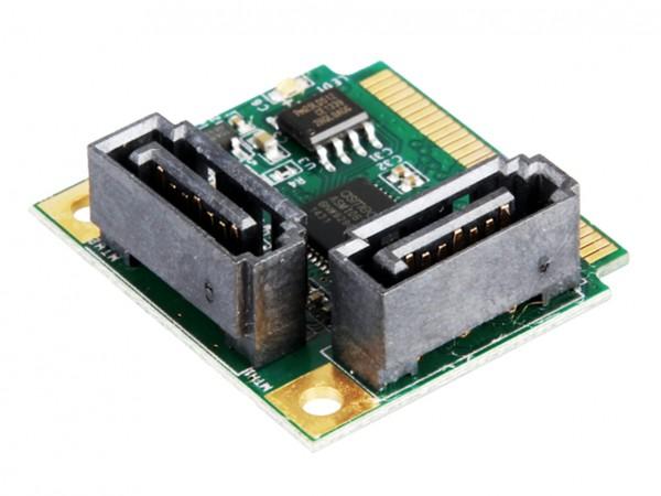 Mini PCIe SATA 3 Controller für 2HDD und SSD