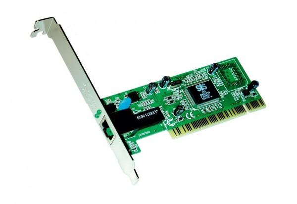 PCI Netzwerk-Karte mit TP Anschluss, 10/100Mbps