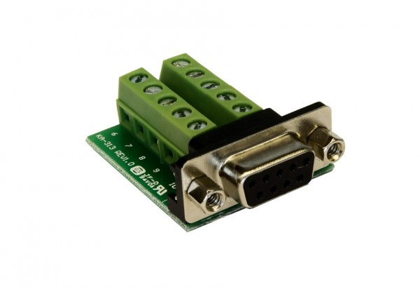 Adapter 9 Pin Buchse zu 10 Pin Terminal Block