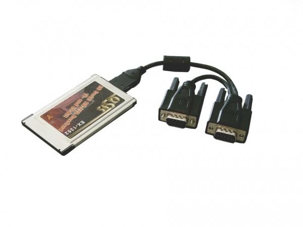 PCMCIA 2S Seriell RS-232 Ports, Oxford