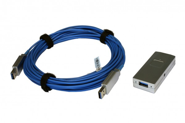 USB 3.2 Gen1 AOC Fiber Kabel, 20m