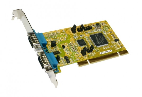 PCI 2S Seriell RS-422/485 Karte (Oxford Chip-Set)