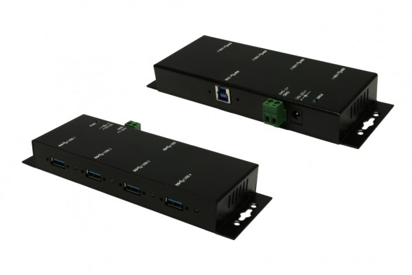 4 Port USB 3.0 Metall HUB mit 1.5A Strom