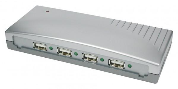 USB 2.0 HUB mit 4 Ports inkl. Netzteil