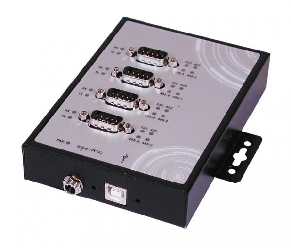 USB 2.0 zu 4S Seriell RS232/422/485,verschraubbar