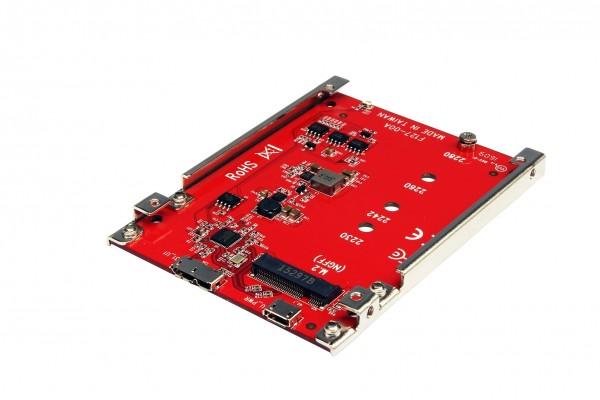 Konverter M.2NFGG SATA zu USB 3.1 Gen2 und 1