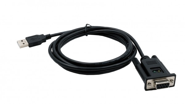 USB zu 1 x Seriell RS-232 Port, 9 Pin Buchsen Anschluss (FTDI Chip)