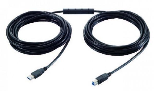 USB 3.2 Gen1 Aktives Verlängerungskabel 10 Meter (A-B Stecker