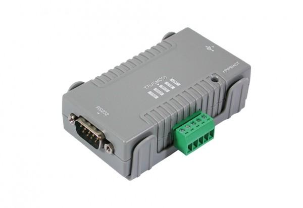 USB 2.0 zu 1S Seriell RS232/TTL (Surge Prot.)
