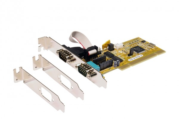 PCI 2S Seriell RS-232 Karte, MosChip Chip-Set