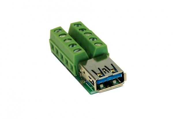 Adapter10 Pin USB 3.0 Buchse zu Terminal Block