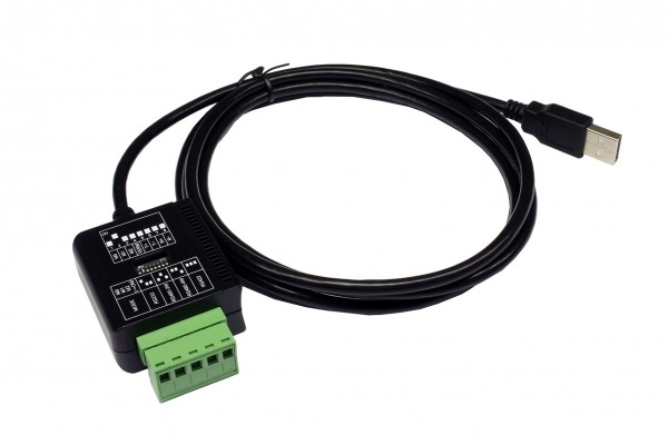 USB 2.0 zu 1S Seriell RS-232/422/485, 5 Pin (FTDI)