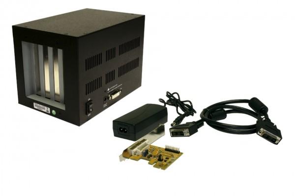 Kompakte Expansion Box PCIe Slot zu 4 x PCI Slots