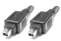 FireWire 1394A Anschlusskabel 4/4, 3.0 Meter