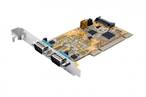 2S Seriell RS-232/422/485 PCI Karte POS einstellbar (FTDI Chip-Set)