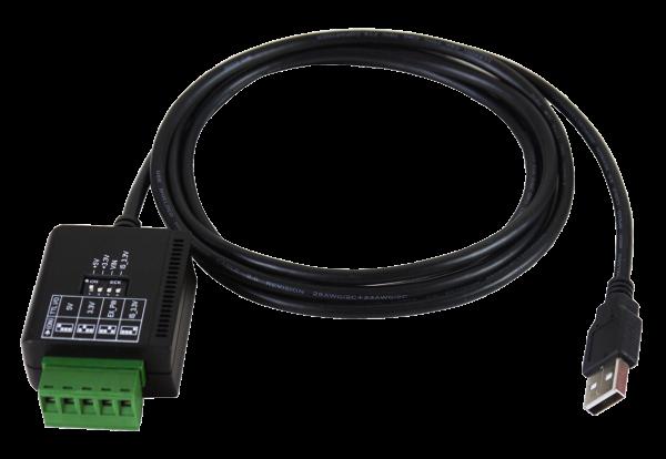 USB 2.0 zu 1S Seriell RS-232 TTL/CMOS mit 15KV Überspannungs-Schutz und 2.5KV Opto Isolation (FTDI Chip-Set)