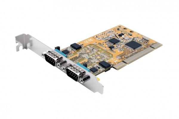 PCI 2S Seriell RS-232/422/485 Surge Karte (FTDI)