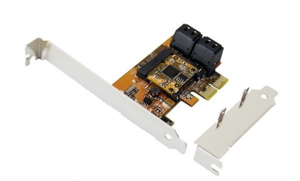 SATA 3 PCIe Controller für 4HDD ohne RAID