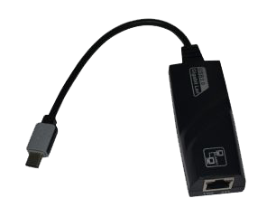 USB 3.2 Gen1 mit C-Stecker zu Ethernet 1Gigabit LAN