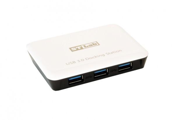 USB 3.0 HUB mit 3 Ports + 1Giga LAN
