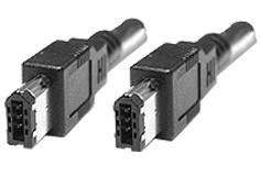 FireWire 1394 Kabel 6 zu 6 Pin, 4,5 m