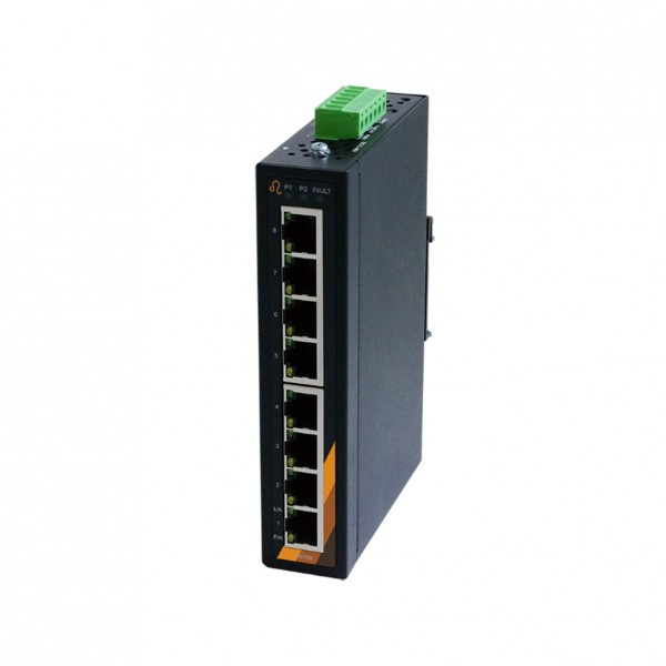 8-Port Industrie Ethernet Switch -8*10/100Tx