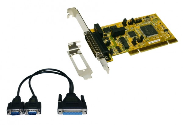 PCI 2S Seriell RS-422/485 Surge Prot., LowProfile