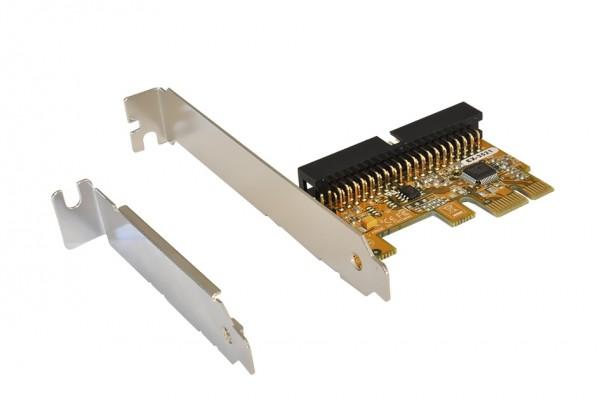 IDE 2HDD PCIe Controller für CD-ROM/DVD