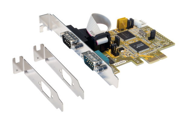 PCIe 2S Seriell RS-232 Karte, SystemBase