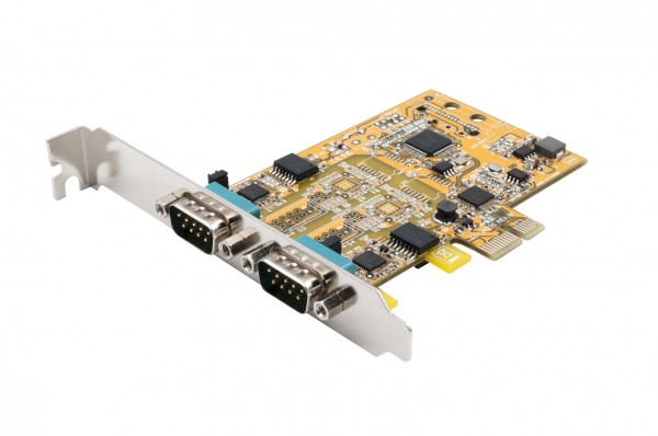 PCIe 2S Seriell RS-232/422/485, Surge (FTDI)