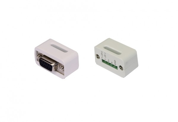 Adapter 9 Pin zu 5 Pin Terminal Block, weiss