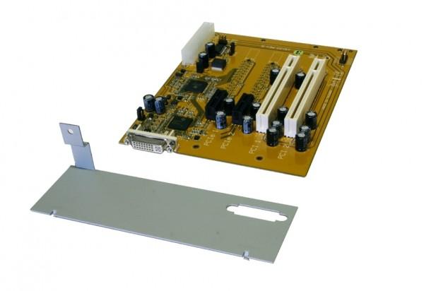 Expansion Board mit 2 x PCI&PCIe, für ATX Gehäuse