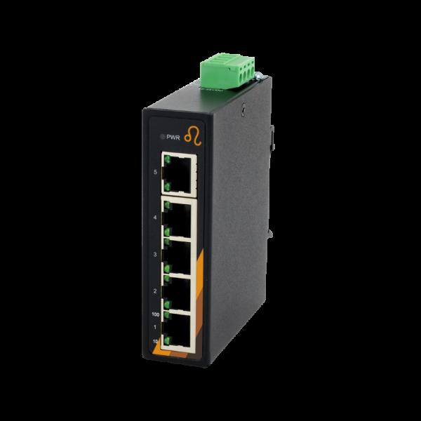 5 Port Industrie Ethernet Switch, Kompakt