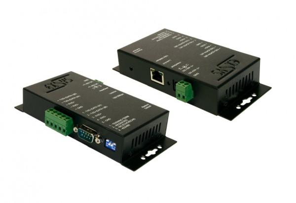 Ethernet zu 1 x RS-422/485 Port, Metall Gehäuse
